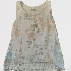 Floral Silk Blouse - Made in Italy